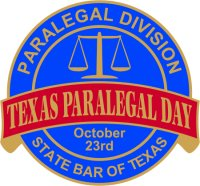 TX Paralegal Day Seal