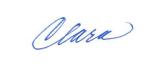 Claras signature
